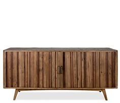 Boston Interiors Rockwell Console | The Rockwell console combines modern style and functionality with eco-friendly reclaimed wood from old buildings for a found appeal that is as striking as it is livable.