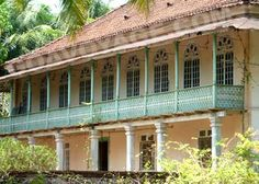 an indo-portuguese house in South Goa, India...