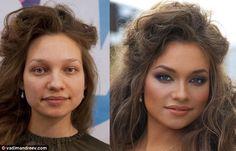 El poder del maquillaje...