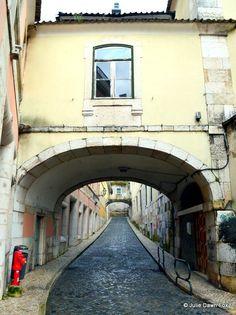Archways, Rua do Século, Lisbon, Portugal