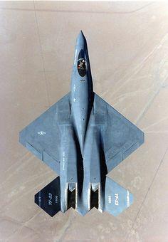 USAF YF-23 top view