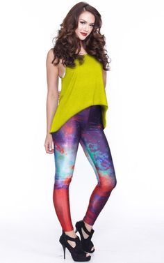 Amazing Printed Leggings | The Kewl Shop