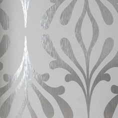 York Wall Coverings York Wallcoverings Candice Olson Inspired Elegance x Foiled Wallpaper Roll Chic Wallpaper, Damask Wallpaper, Bathroom Wallpaper, Wallpaper Roll, Wall Wallpaper, Designer Wallpaper, Harlequin Wallpaper, Wallpaper Bookshelf, Wallpaper Ideas