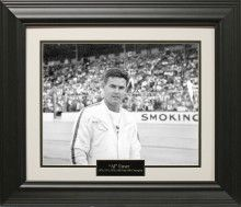 Al Unser Photo Matted and Framed