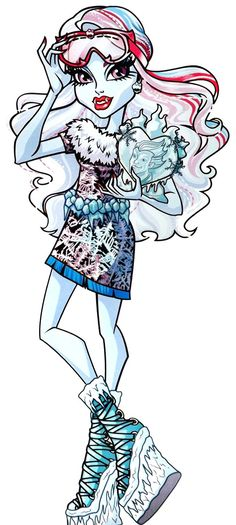 monster high abbey bominable abbey bominable is the daughter of the yeti an