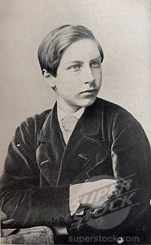 Prince Wilhelm of Prussia, Queen Victoria's eldest grandchild, as a teen.