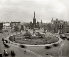 Luther Place Memorial Church on Thomas Circle in 1921 (1226 Vermont Ave, NW).