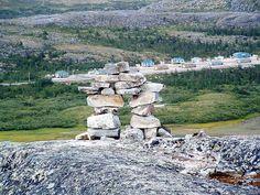 Le village de Kangiqsualujjuaq, au Québec, Nunavik