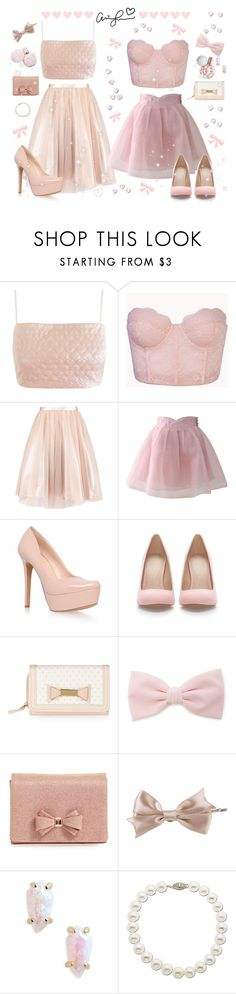 """♡ Yours Truly Inspired Crop Top Looks ♡"" by kaylalovesowls ❤ liked on Polyvore featuring Lashes of London, Forever 21, Chicwish, Jessica Simpson, Zara, Ted Baker, Kendra Scott and Lord & Taylor"