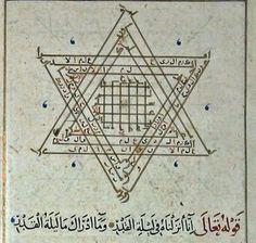 """.""""نجمة داود العبرية تلبية عاء القرن الثاني و الثالث"""
