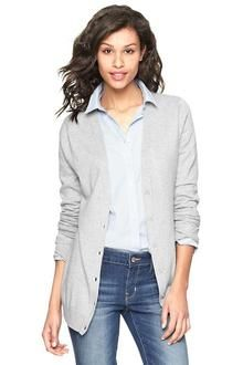 Gap Luxlight V-Neck Cardigan - Lyst