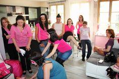 Dress code rose pour la Baby Shower de Lora! Baby Shower VIP organisée par Mybbshowershop.com