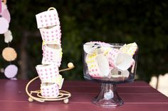 Cute idea for activity during cocktail hour