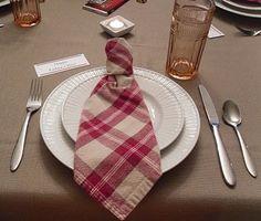 Necktie Napkin