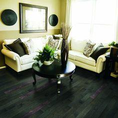 Shop allen + roth 3.25-in W Prefinished Oak Hardwood Flooring (Mink) at Lowes.com