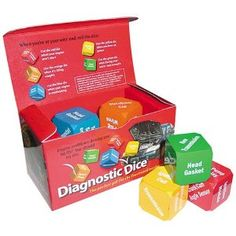 Creative Dice DICE Diagnostic Dice Novelty