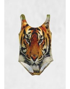 Popupshop tiger swimsuit online at Lille Figaro
