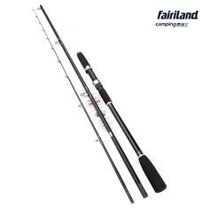 Fairiland - 2.4m(7.9') Medium Light Boat Fishing Rod Lightweight Carbon Fiber Travel Spinning Rod