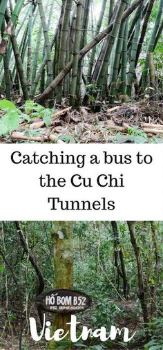Best tips for knowing the best way to get to the Cu Chi tunnels by bus.
