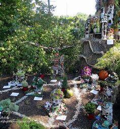 fairy gardens festival, gardening, Fairy Village