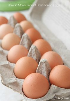 How To Make Perfect Hard Boiled Eggs by Picky Palate
