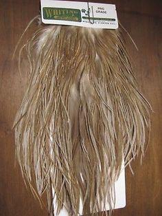 Angelsport-Artikel Angelsport-Köder, -Futtermittel & -Fliegen Fly Tying Whiting Silver Rooster Midge Saddle White dyed Light Dun #A