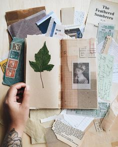 It all started with a bunch of scraps. Thank you for the special leaf sent from…