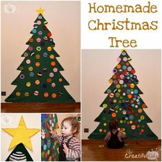 DIY Felt Christmas Tree : DIY Felt Christmas Tree for Kids