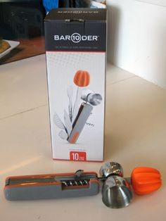 The Bar10der ($49.99) is billed as the ultimate at-home bartending tool, and for good reason. This oversize Swiss Army Knife for cocktails includes a muddler, stirrer, knife, channel knife, zester, reamer, jigger, bottle opener, corkscrew, and strainer all in one.