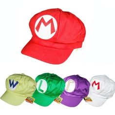 09e27b12cd4 Find More Hats  amp  Caps Information about Super Mario Bros hat Cartoon  mario bros Cosplay