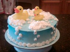 Image detail for -Rubber Ducky Bubble Bath by CarrieM0925 on Cake Central