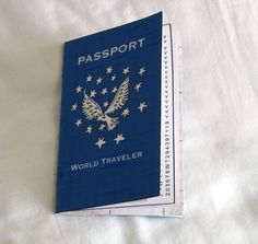 learn about other countries and travel and mark your progress by making your own passport! could makers and local artists help us get youth involved in making this?