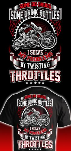 I'd rather be twisting throttles on my motorcycle. Such an awesome riding shirt.