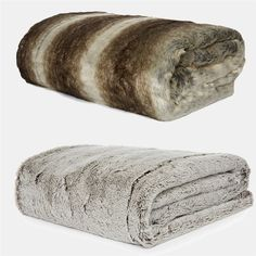 Primark Home faux fur throws.