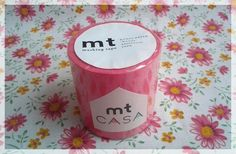 MT Casa tape sweet pink washi tape for home decor