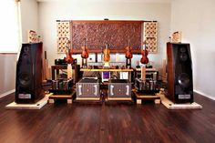 Usher loudspeakers with Jeff Rowland