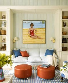 Inspiring Beach Wall Decor Ideas For The Space Above The Sofa. Dream Beach  HousesLake ...