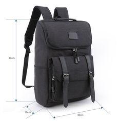 Amazon.com  Weekend Shopper Lightweight Canvas Backpack Laptop Rucksack  Bookbag Knapsack for School Outdoor Travel Hiking BLACK  Computers    Accessories 5b1509f0d1