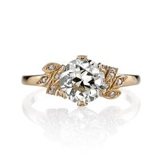 Single Stone Allison Engagement Ring | Greenwich Jewelers
