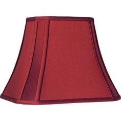 Crimson Red Cut-Corner Lamp Shade (Spider) -- Check this awesome product by going to the link at the image. (This is an affiliate link) Floor Lamp Shades, Chandelier Shades, Red Lamp Shade, Contemporary Lamp Shades, Country Lamps, Corner Lamp, Living Colors, Dark Blue Walls, Rectangular Lamp Shades