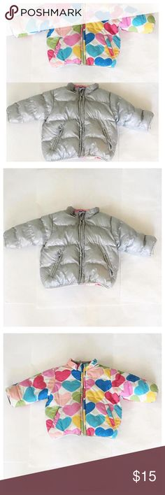 🎀 Reversible Children's Place Jacket🎀 EUC reversible puffer coat 18 M  Will change weight to 13 oz if a single item purchase. Just comment single item before sale please. Children's Place Dresses