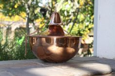 Maui Grande Smooth Copper Tabletop Torch