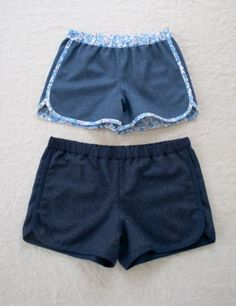 City Gym Shorts in Lana Cotta Canberra   The Purl Bee