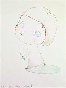 // We Are Sad Enough by Yoshitomo Nara.