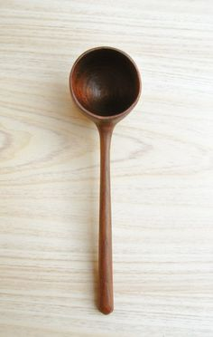 wooden spoon for coffee