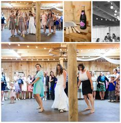 Rainy Rustic barn wedding Butler