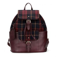 Yoins Burgundy Checked Canvas Leather-look Backpack with Drawstring ($52) ❤ liked on Polyvore featuring bags, backpacks, purses, burgundy, faux-leather backpack, canvas knapsack, drawstring bag, day pack backpack and faux leather drawstring backpack
