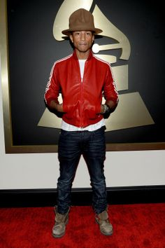 Pharrell Williams, you are wearing that hat ain't you bro!..Aries like me!