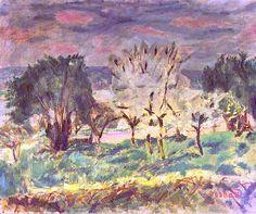 Pierre Bonnard, Landscape