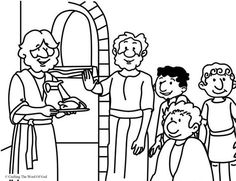 Daniel And The Kings Food Daniel Refused The Kings Food Coloring Page Crafting